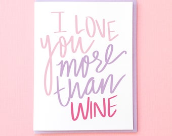 Wine Card. Funny Birthday Card. Best Friend Card. Funny Anniversary Card. Love You Card. Funny Wine Card. Best Friend Card. Wine Anniversary