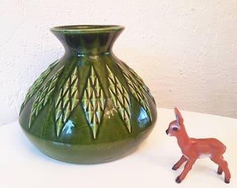 Christmas vase by Jasba keramik West Germany 1970s
