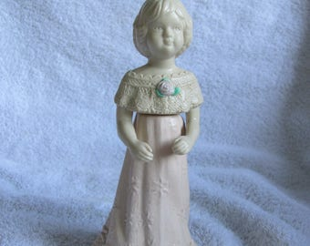 Avon Adorable Abigail Perfume Avon Bottle Decanter Full (#31)