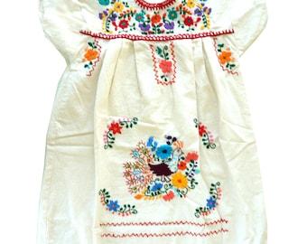 Girls Mexican Dress
