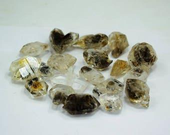 87 Gram double terminated hydro carbon Diamond Quartz Pakimers Crystals Lot from Baluchistan Pakistan