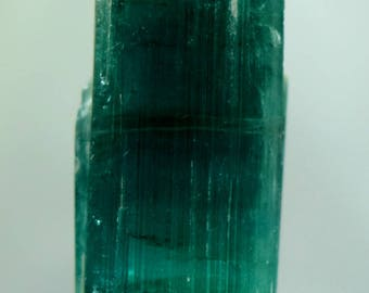 65 carats Terminated Paraiba Blue color Tourmaline Crystal from Paproke Afghanistan -  30*16*15 mm