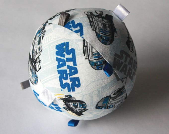 Sensory Spheres--Star Wars R2-D2 Rattle and Tag Toy