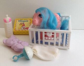 G1 My Little Pony Baby FIREFLY: Baby Pony Pegasus