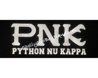 Python Nu Kappa Iron On, Monsters University Iron On, Custom Iron On