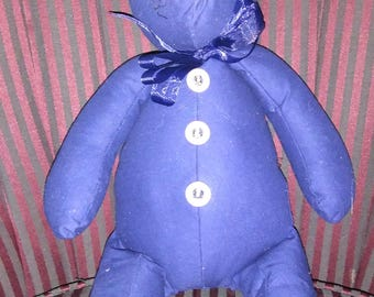 So Blue Teddy Bear