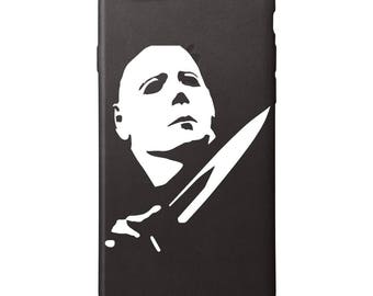 Michael Myers Phone Decal