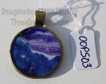 Handmade Jewelry, Acrylic Flow, Inexpensive and slightly Flawed