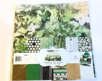 "KaiserCraft ""Limelight"" 12"" x 12"" Paper Kit"