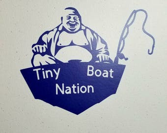 Tiny Boat Nation, Buddha decal