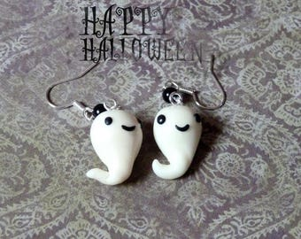 These ghosts glow earrings
