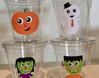 12 Halloween 12 oz disposable party cups