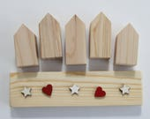 DIY Christmas House Kit - 5 houses
