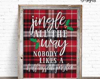 INSTANT DOWNLOAD: 8x10 Jingle All the Way