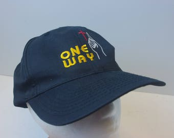 One Way snapback 90s dad hat