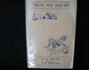 AA Milne Now We Are Six 1934