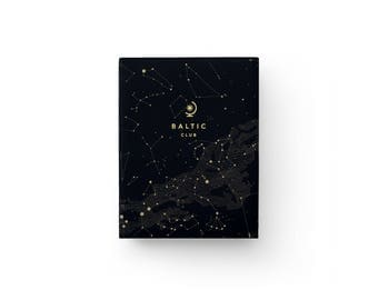 "Pocket Notebook Sky – Binding Smyth-Sewn – 5,75"" x 8"" – Blank pages"