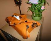 LIQUIDATION - Housse en tissu pour boîte à mouchoirs façon japonaise