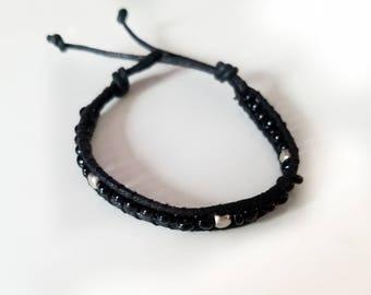 Seed Bead Wrap Bracelet