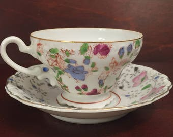 Vintage Demitasse Cup and Saucer, made in occupied Japan