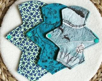 Cloth pads - MORE COLOURS starter set