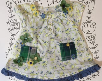 embellished vintage baby dress