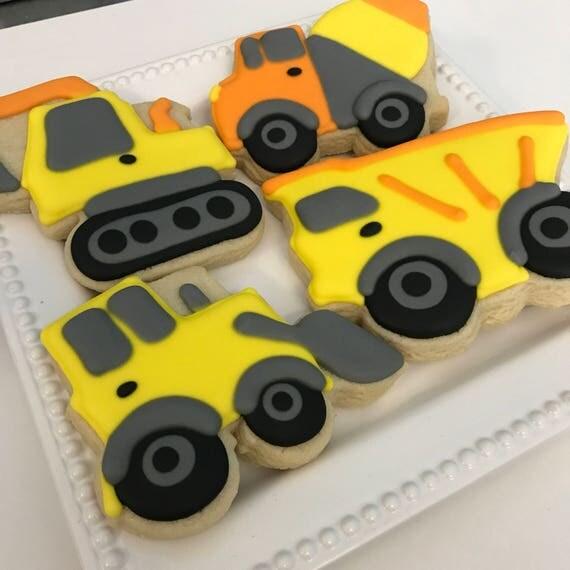 Construction Cookies