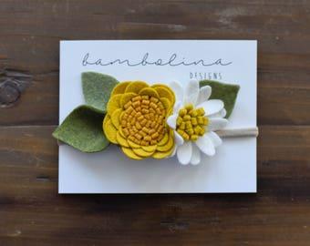 Giallo Senape ll Flower Set