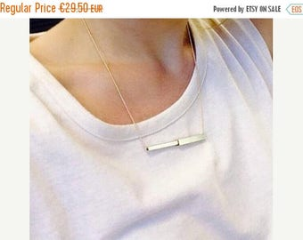 35% Discount Tube necklace | Gold plated & Silver plated