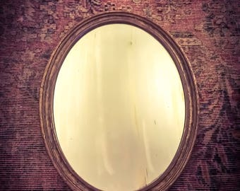 Vintage/Antique Oval Mirror