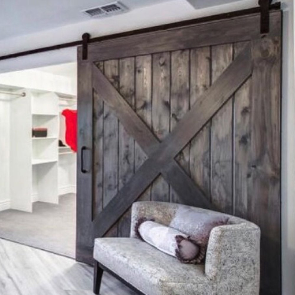 Pantry Ideas With Sliding Doors: Hinged Bi Fold Sliding Pantry Doors By Rustic Luxe