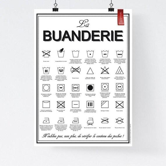 Fichier num rique a3 affiche la buanderie lavage - Logo lessive machine a laver ...