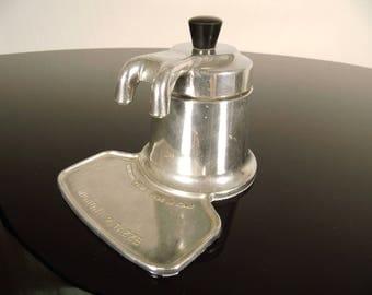 Original vintage espresso machine, Nuova Mignon, Brevetto, OMG Italy