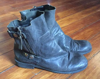 Nine West Vintage America Motorcycle boots