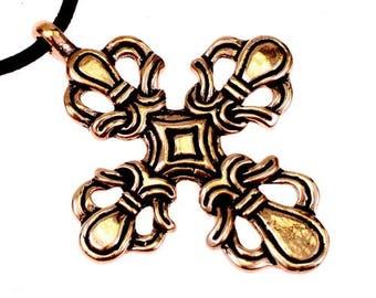 Bonderup-Cross pendant in Ringerike style - [0 Bonderup/G1 B-3]
