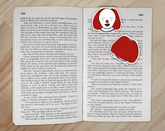 Pennywise Magnetic Bookmark - Stephen King's It Clip