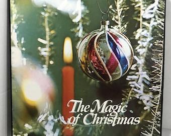 The Magic Of Christmas 3xLP vinyl records 1972 Various EX Columbia House - Burl Ives, Bing Crosby, Percy Faith, Doris Day
