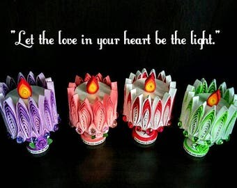 Paper Quilling candlestick
