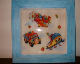 Deco frame vehicles for boy