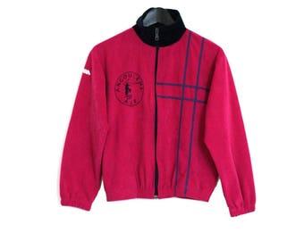 1980s vintage pink sport jacket - vintage clothing