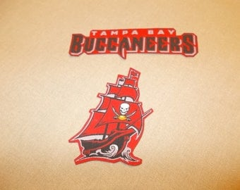 Appliques - NFL - Tampa Bay Buccaneers Sew On or Iron On