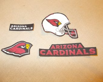 Appliques - NFL - Arizona Cardinals - Sew on or No Sew