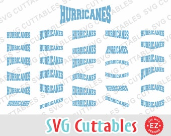 Hurricanes EZ Layouts, svg, eps, dxf, Set of 30, Digital Cut File for cutting machines