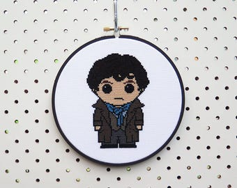 Sherlock Holmes Cross Stitch