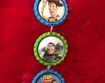 Toy Story Ornament/ Buzz Lightyear Ornament/ Woody ornament