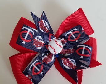 Minnesota Twins hair bow
