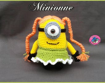 Minionne ou Minion , Amigurumi