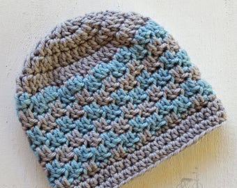 Handmade crochet hat, baby hat, photo prop hat, baby shower gift, merino wool baby hat, girl hat, boy hat, baby photo prop, MADE TO ORDER