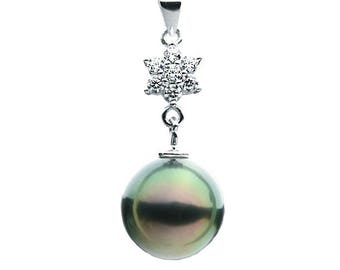 Sterling Silver Pendant Pearl Setting SP37