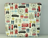 I Love London Zip Bag/ Pouch